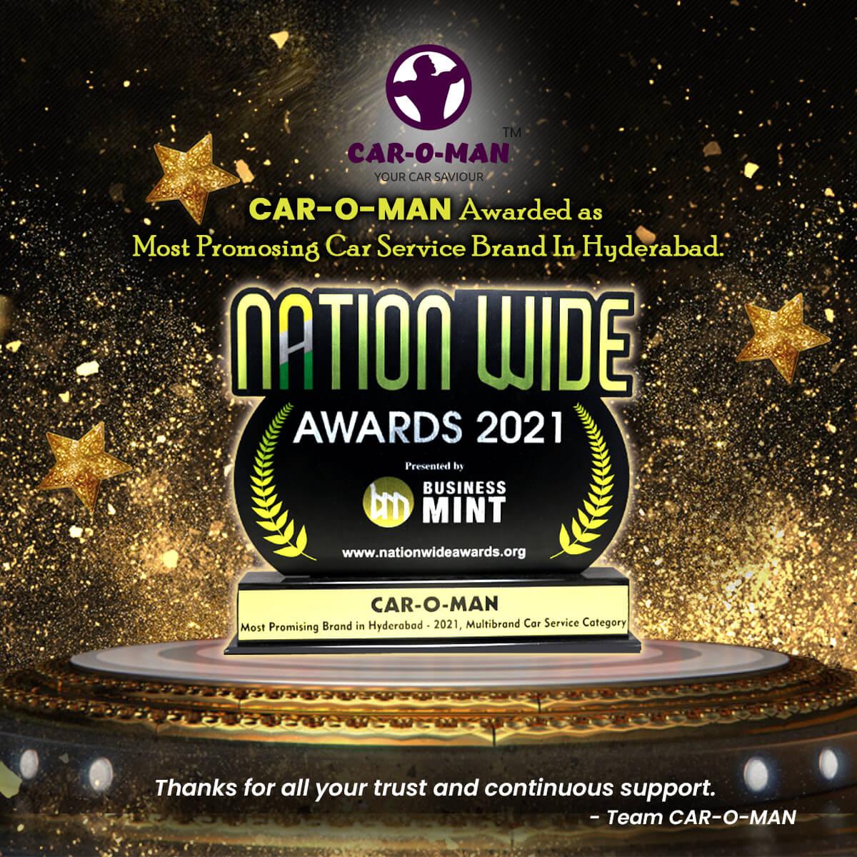 car awards caroman gold